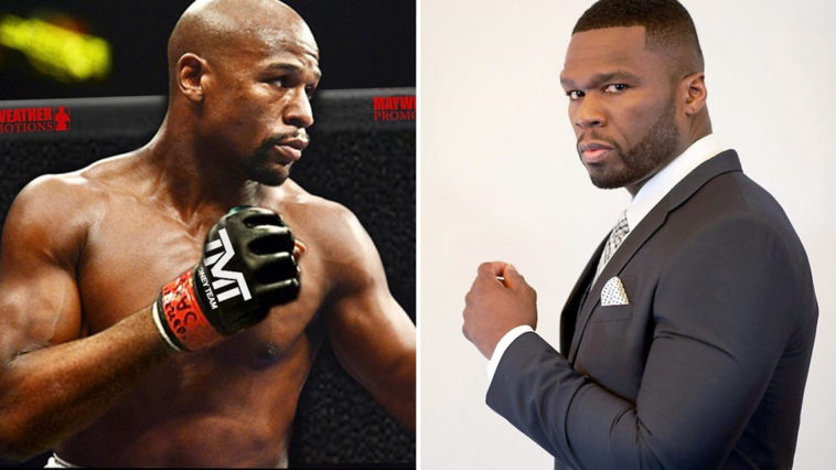 8939bec882d44a Floyd Mayweather vs. 50 Cent massive beef takes a dark turn
