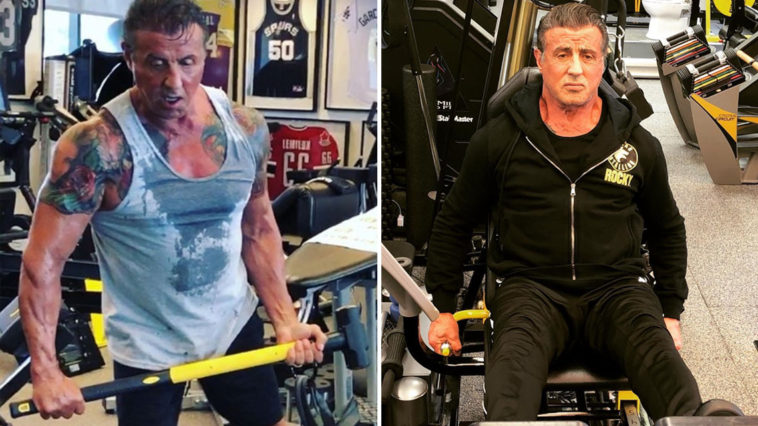Sylvester Stallone is getting ripped for Rambo 5