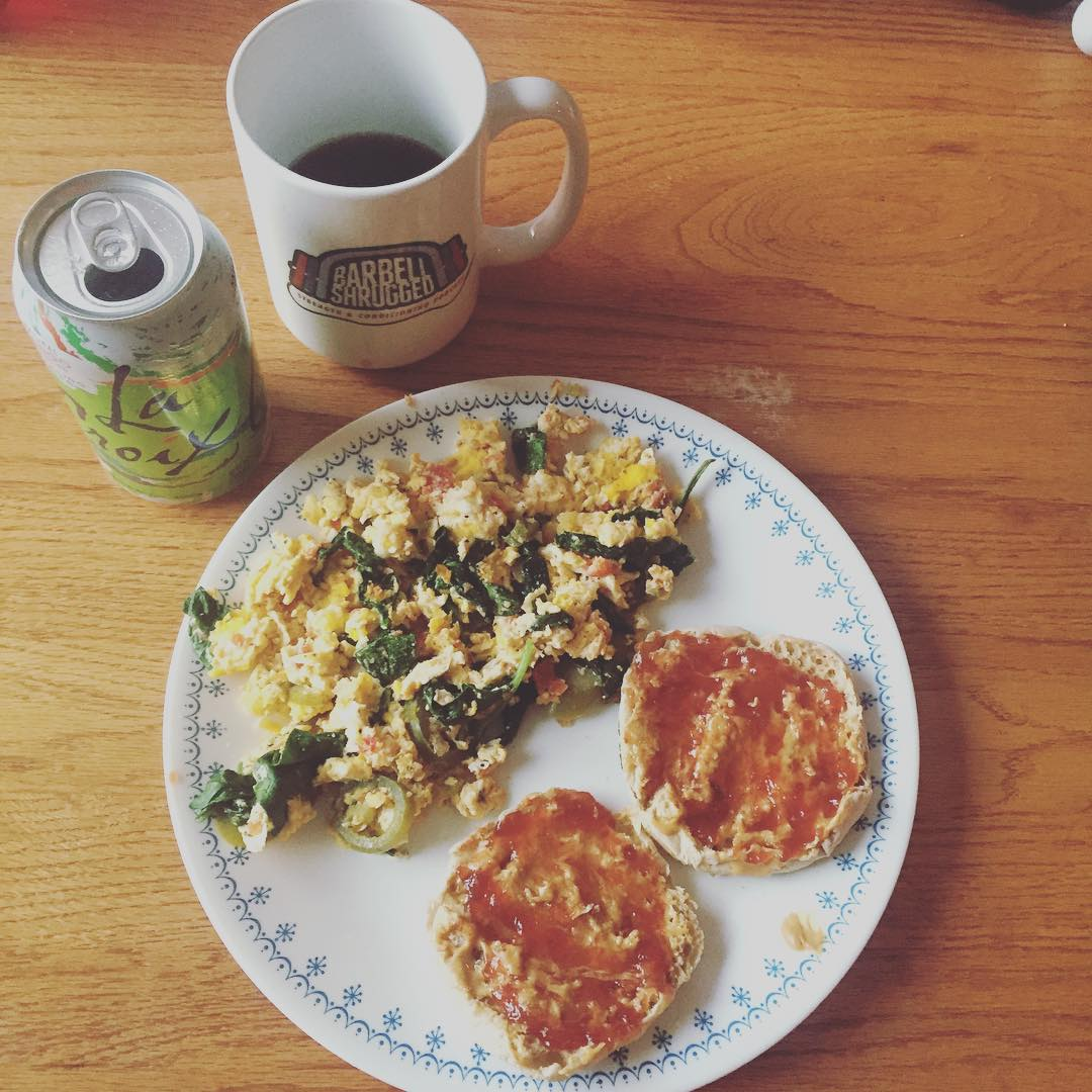 Crossfit Champ Lindy Barber Eats Two Breakfasts Every Day foto