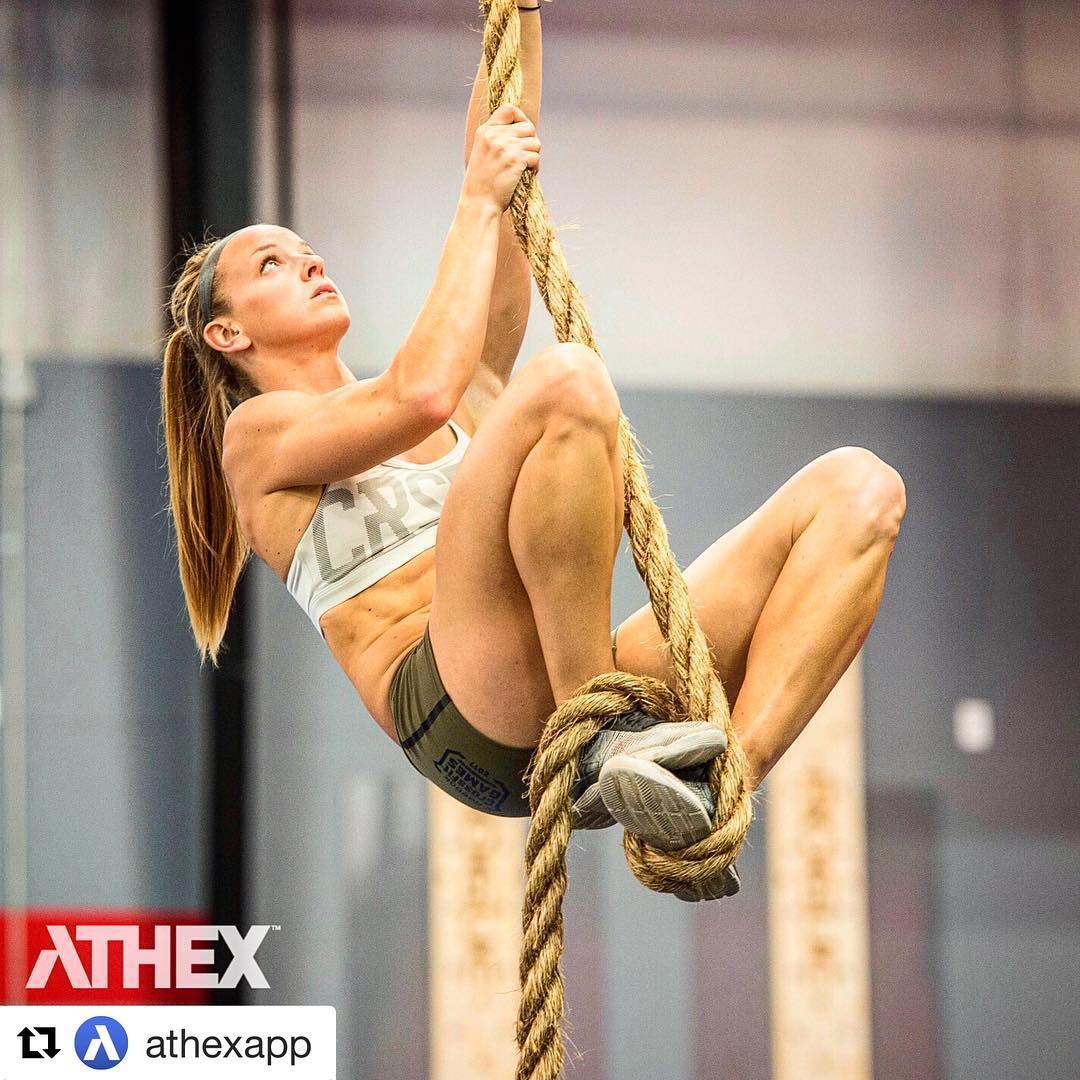 photo Crossfit Champ Lindy Barber Eats Two Breakfasts Every Day